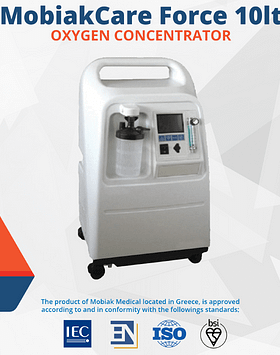 MobiakCare Force 10lt Oxygen Concentrator
